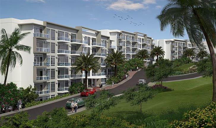 Ocean Garden Villas, Facade 2