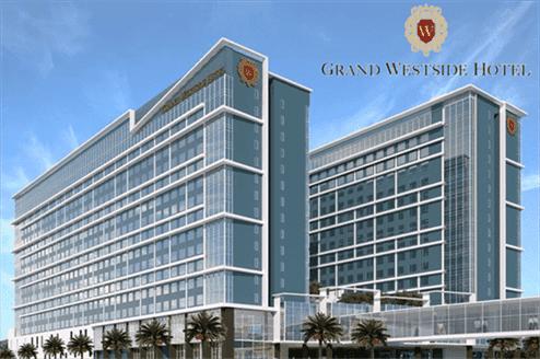 Grand Westside Hotel, Facade