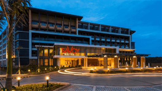 Savoy Hotel Property Slides