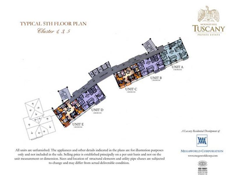 Tuscany Private Estates Floor Plan