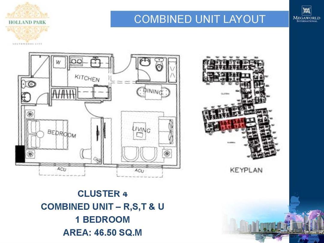 Holand Park, Unit Layouts