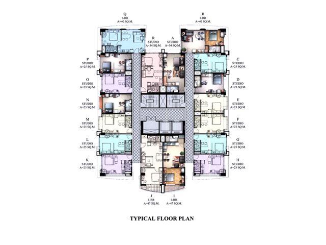 Morgan Suites Floor Plan