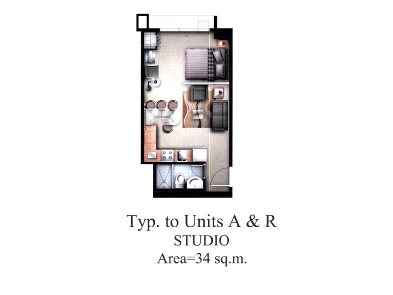 Morgan Suites Unit Layout