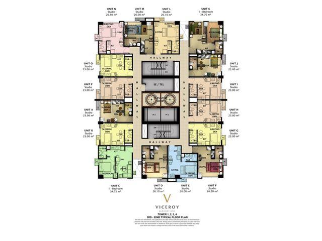 Viceroy Floor Plan