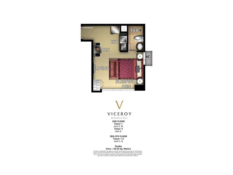 Viceroy Unit Layout