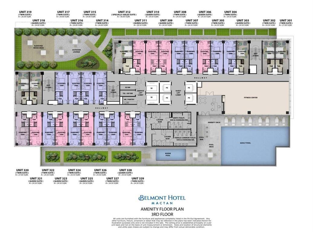 Mactan Belmont Luxury Hotel Floor Plan