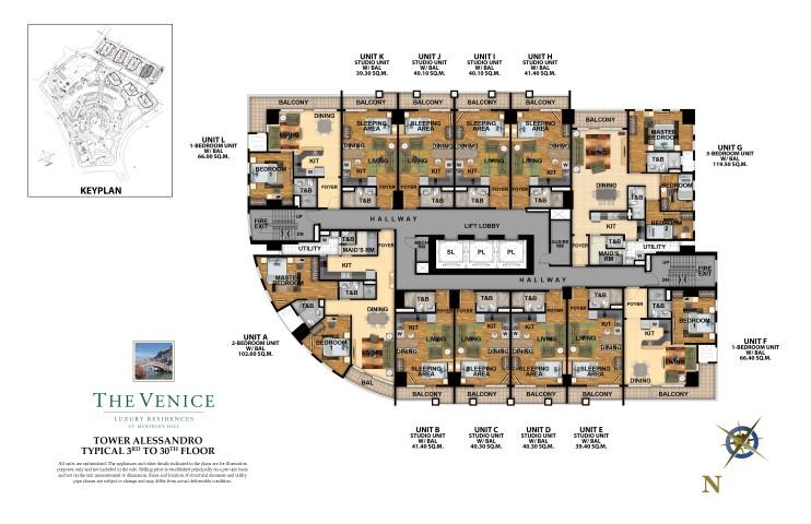The Venice Luxury Residences Floor Plan