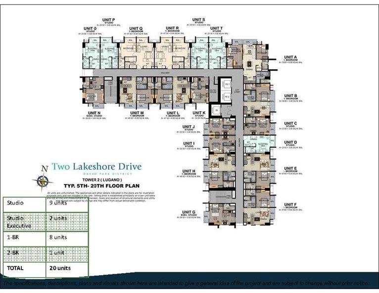Two Lakeshore Drive Model Layout